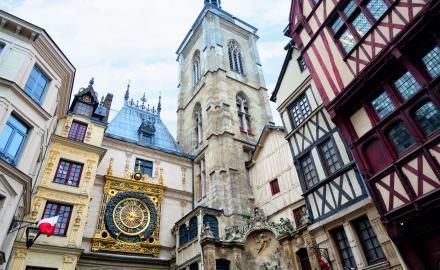 Rouen capitale de la Normandie