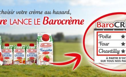 Le Barocrème : La solution Elle & Vire pour bien choisir votre crème !