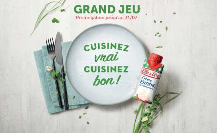 """""""Cuisinez vrai, Cuisinez bon"""" avec Elle & Vire"""