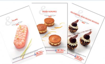 Les nouvelles recettes de Printemps par La Maison de la Crème Elle & Vire®