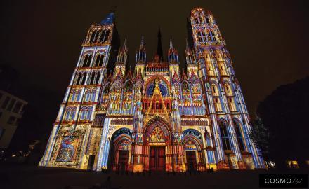 La Cathédrale de Lumière 2019