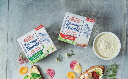 Avez-vous testé notre fromage fouetté?