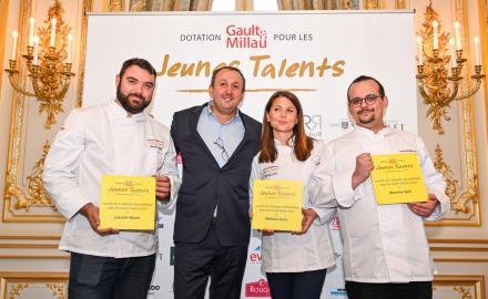 De nouveaux Jeunes Talents dotés par Gault & Millau et ses partenaires !