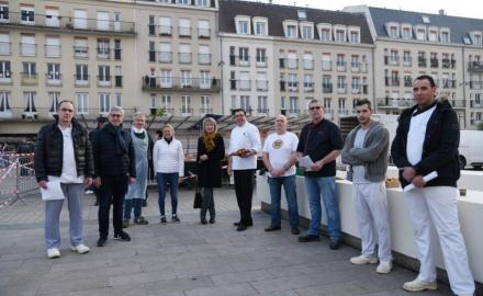 The solidarity breakfasts of Fontainebleau
