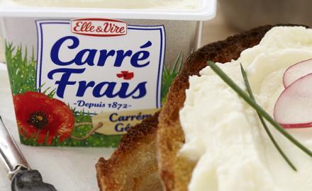 Enfin un format familial en pot pour Carré Frais !