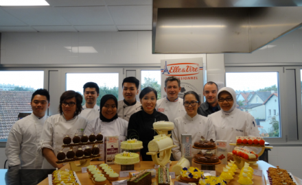 Indonesian chefs' training with Nicolas Boussin