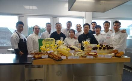 CHINESE CHEFS TRAINING WITH NICOLAS BOUSSIN