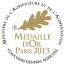 Médaille d'Or au Concours Général Agricole 2013