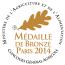 Médaille de Bronze au Concours Général Agricole 2014